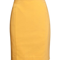 Stretch Pencil Skirt - from H&M