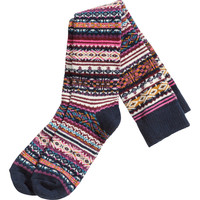 H&M - Wool-blend Knee Socks - Dark blue - Ladies
