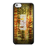 A Day To Remember Song iPhone 5C Case