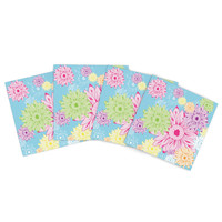 """Laura Escalante """"Summer Time"""" Indoor/Outdoor Place Mat (Set of 4)"""
