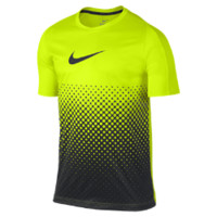 Nike Graphic Gradient Men's Soccer Shirt Size Large (Yellow)