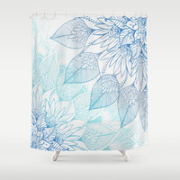 Vibe with me Shower Curtain by rskinner1122