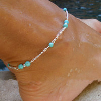 Fashion Hand-beaded Anklet For Women