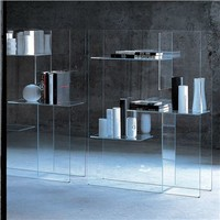 Glas Italia Transfix Bookshelf - Style # TRX, Modern bookcases, contemporary bookcases, books shelves at SWITCHmodern.com