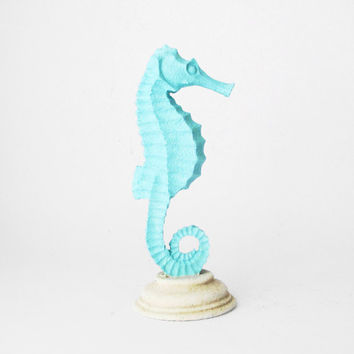 Seahorse, Coastal Decor, Beach Decor, Summer, Beach, Seahorse Sculpture, Underwater, Beach Housewares, Marine Decor, Hodi Home Decor