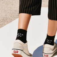 Out From Under Verbiage Ankle Sock | Urban Outfitters