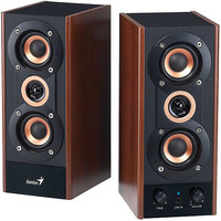 Walmart: Genius SP-HF800A 2.0 Speaker System, Maple Wood