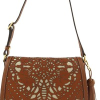 Leather Bag Crossbody New Ridge - Luz da Lua