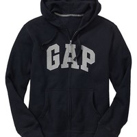 Gap Men Factory Arch Logo Zip Hoodie