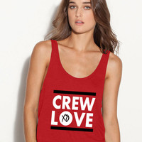 1 crew love ladies flawy tank top tee xo ovoxo drake xo the weeknd mesh crew love