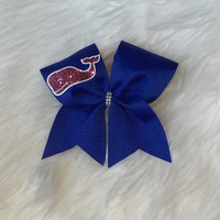 Vineyard Vines Cheerleading Bow~Vineyard Vines~Pink Whale~Cheerleading Bow~Cheer