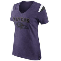 Baltimore Ravens Nike Women's Fan V-Neck T-Shirt – Purple