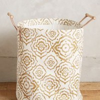 Watercolor Hamper Tote by Anthropologie