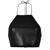 Rag & Bone - Leather Halter Top