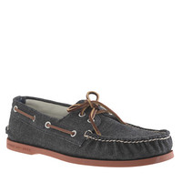 Sperry Top-Sider® for J.Crew Authentic Original 2-eye boat shoes in denim - loafers & boat shoes - Men's shoes - J.Crew