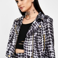 Wicked Rich Grl Moto Jacket