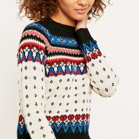 BDG Yoke Detail Jumper - Urban Outfitters