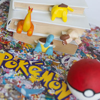 Pokemon GO bookmarks // Handmade and crafted with love // Unique and creative gift // MYBOOKMARK present