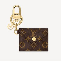 Louis Vuitton LV Monogram KIRIGAMI POUCH BAG CHARM AND KEY HOLDER