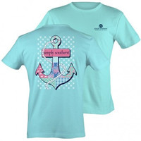 Simply Southern Prep Anchor T Shirt