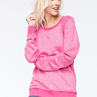 Volcom Lived In Womens Sweatshirt Pink  In Sizes