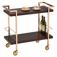 American Atelier Wheeled Double Handle Bar Cart   Nordstrom