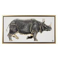 Gilded Rhino | Animals | Art Themes | Art | Z Gallerie