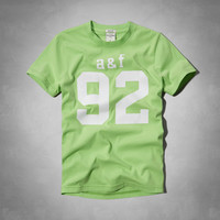 athletic graphic tee
