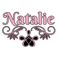 Personalized 2 color custom name wall decal with scroll design WW4027