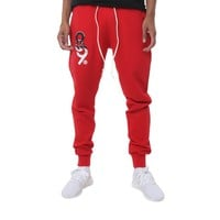 Drip Keys French Terry Yard Sweats Red