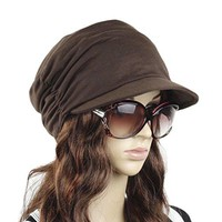 Drape Layers Slouch Beret Beanie