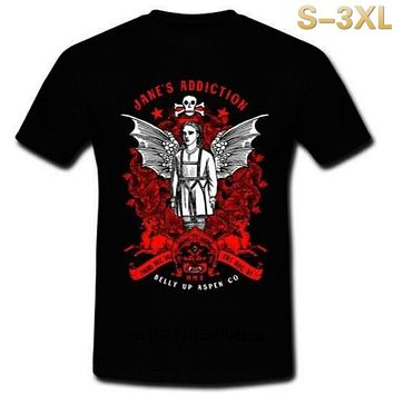 Men T shirt JANE'S ADDICTION TOUR ROCK BAND MMX BELLY UP ASPEN SizeS 3XL funny t shirt novelty tshirt women|T-Shirts