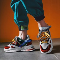 MINGPINSTYLE INS Vintage Dad Sneakers 2018 Kanye West Light Breathable Men Casual Shoes zapatillas hombre Casual tenis masculino