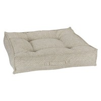 Jacquard Square Piazza Dog Bed — Natura