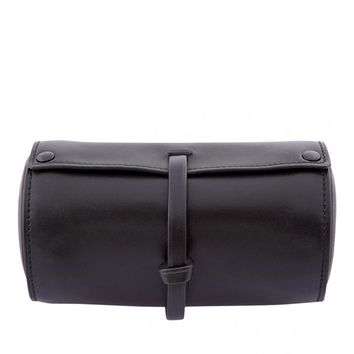 Just One Eye - Small Black Leather Traveling Watch Case   Just One Eye justoneeye.com