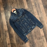 Gucci winter Men's denim jacket M-XXL