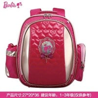 School Backpack Barbie children/kids orthopedic primary cartoon school bags portfolio backpack for girls book/student bags hard back grade 1-2 AT_48_3