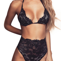 Women Sexy Lace Strap Backless Lingerie Chest A File Open Bandage Underwear Babydoll Lingerie Leotard Sexy Sleepwear IMY66