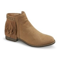 Women's Mossimo Supply Co. Ruthie Fringe Bootie