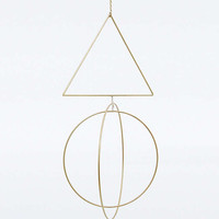 Geo Copper Wall Ornament - Urban Outfitters