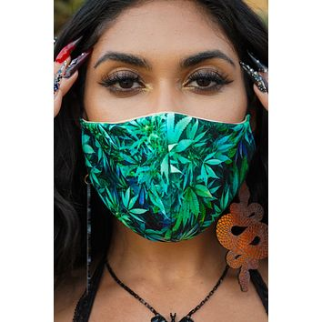 Face Mask in Northern Lights Sativa