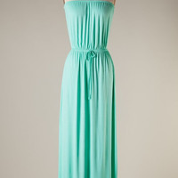 Simple and Easy Maxi Dress - Mint