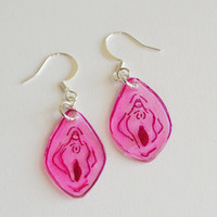 Vulva Vagina Feminist Earrings