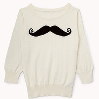Musctache Sweater   FOREVER 21 - 2000050330
