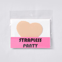 Can You Keep A Secret? Strapless Thong Panty - Nude