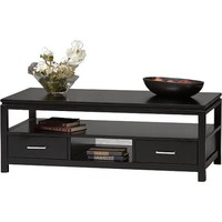 Sutton Black Coffee Table - Walmart.com