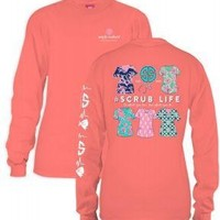 *Closeout* Simply Southern Long Sleeve Tees  - SCRUB