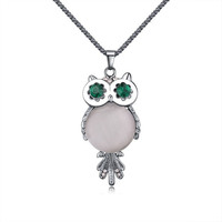 Charms Crystal Owl