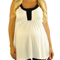 Maternity Tank Tops-Indie Icon