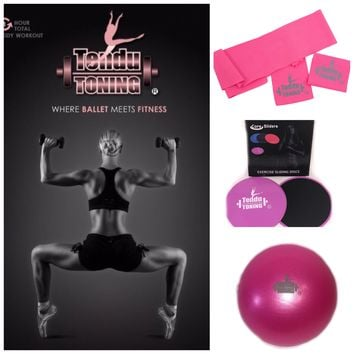 "Tendu Toning® # 1 ""where ballet meets fitness"" DVD Combo Kit"